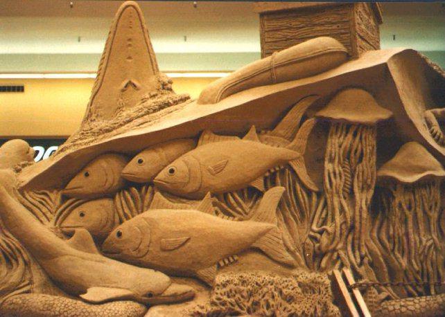 united sculptors of america sea life sand sculpture. Black Bedroom Furniture Sets. Home Design Ideas